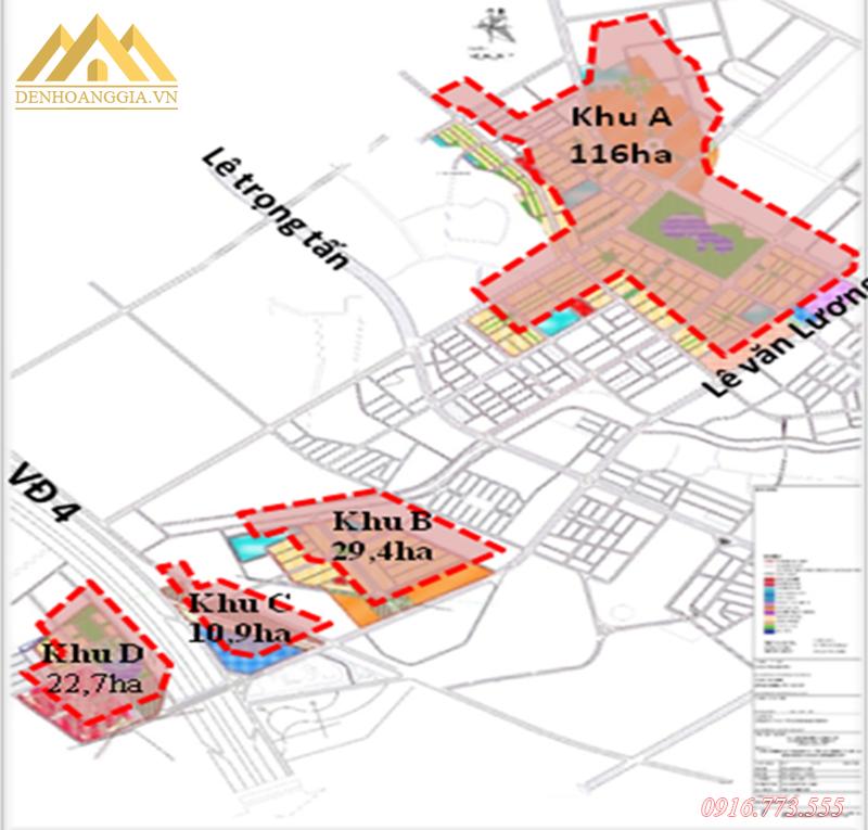 Quy mô dự án khu đô thị Dương Nội - Hà Đông