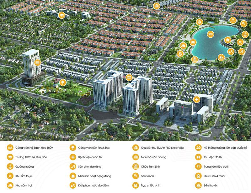 Tiện ích của dự án khu đô thị Dương Nội - Hà Đông