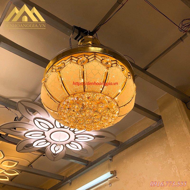 Quạt trần đèn trang trí HGA-QTD-142