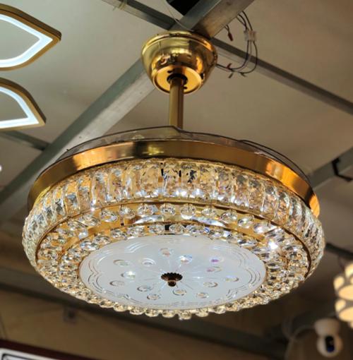 Quạt trần đèn trang trí HGA-QTD-9005