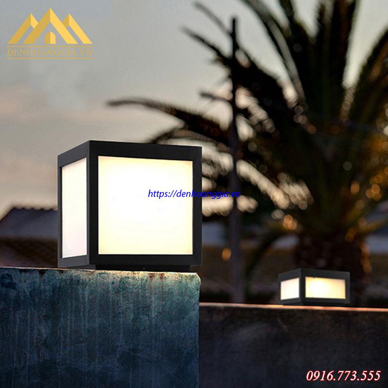 Đèn trụ cổng tường rào Rolux-TC06