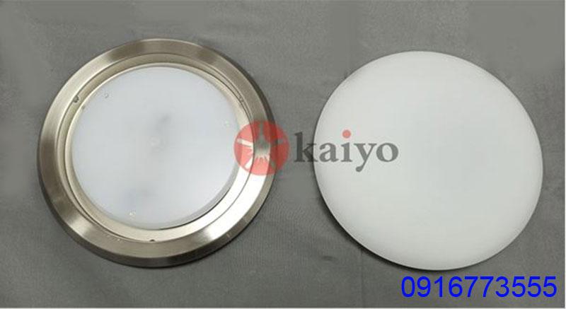 Quạt trần đèn Kaiyo IWA-218 3 cánh sử dụng bóng đèn led dạng đĩa siêu sáng
