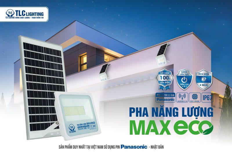 Đèn led pha năng lượng mặt trời TLC