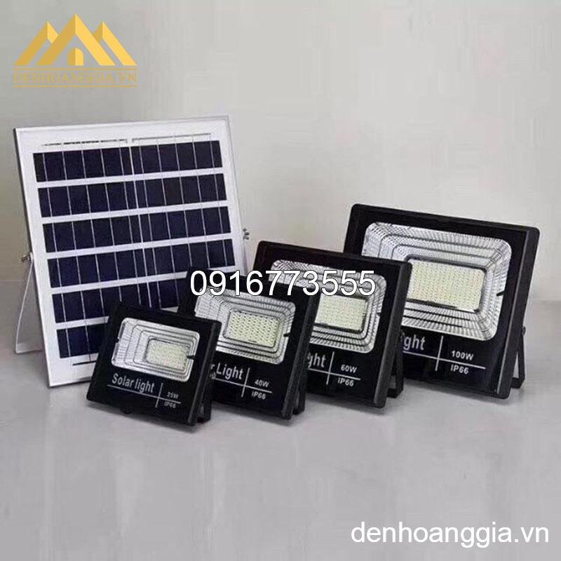 Bề mặt đèn led pha 100w năng lượng mặt trời TLC