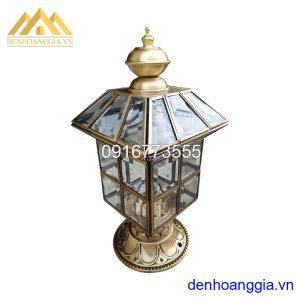 Đèn trụ cổng bằng đồng Rolux-TCD07