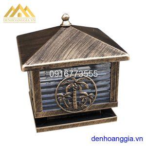 Đèn trụ cổng hàng cây dừa Rolux-TCGR01