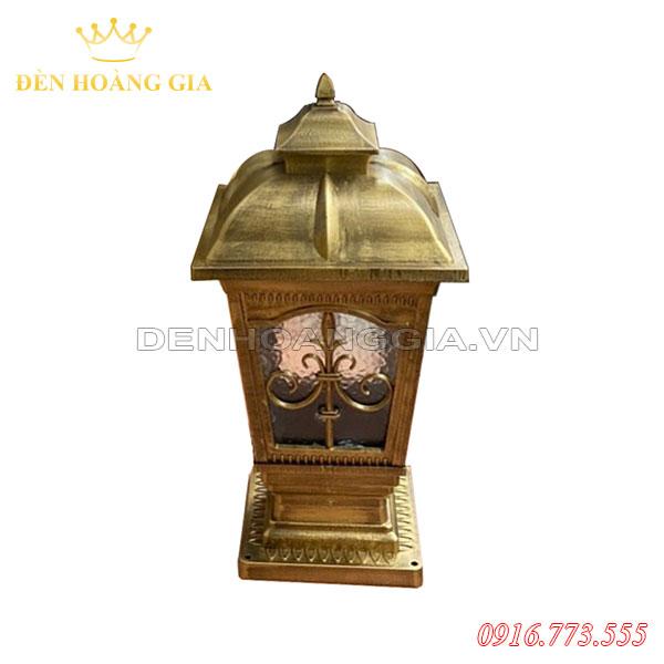 Đèn trụ cổng cổ điển HGA-TCCD09 (Nhôm)