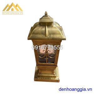 Đèn trụ cổng cổ điển Rolux-TCCD09