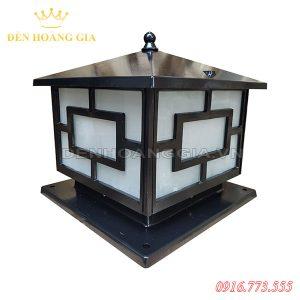 Đèn trụ cổng tường rào giá rẻ HGA-TCGR03 (Hợp kim)