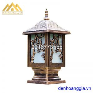 Đèn trụ cổng tường rào giá rẻ Rolux-TCGR05
