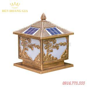 Đèn trụ cổng năng lượng mặt trời HGA-TCNL11 (Nhôm)