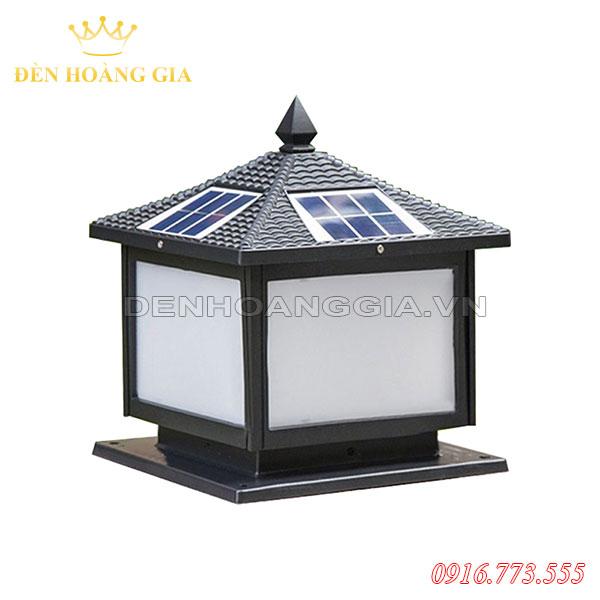 Đèn trụ cổng năng lượng mặt trời HGA-TCNL04 (Nhôm)