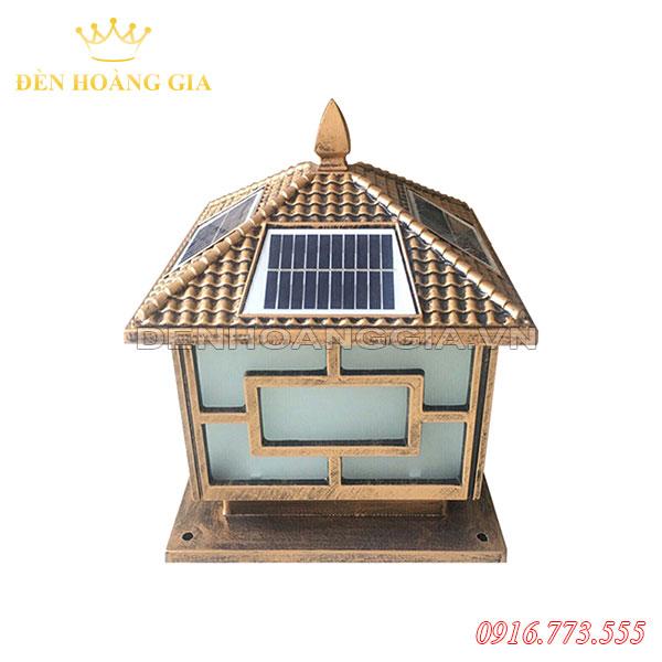 Đèn trụ cổng năng lượng mặt trời Rolux-TCNL10 (Nhôm)