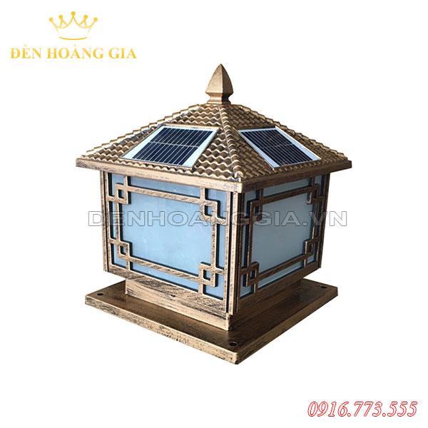Đèn trụ cổng năng lượng mặt trời HGA-TCNL12 (Nhôm)