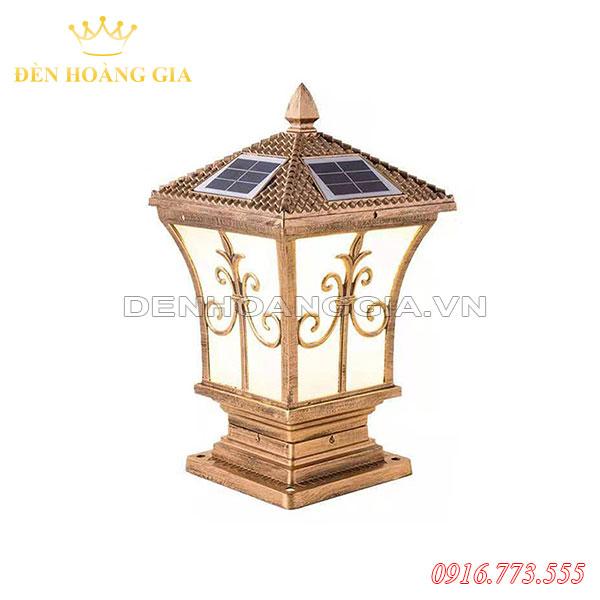 Đèn trụ cổng năng lượng mặt trời HGA-TCNL13 (Nhôm)