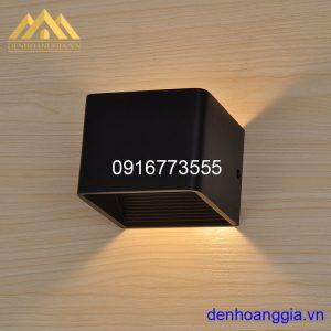 Đèn tường led 5w trong nhà vỏ đen Rolux-DTD11GR