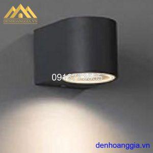Đèn tường led 5w ngoài trời vỏ đen Rolux-DTD23