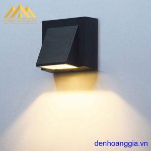 Đèn tường led 5w ngoài trời vỏ đen Rolux-DTD26
