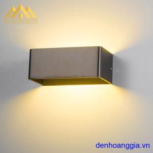 Đèn tường led 6w trong nhà vỏ đen Rolux-DTD28