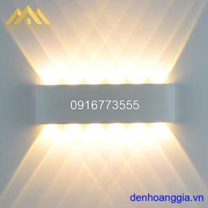 Đèn tường led 12w ngoài trời vỏ trắng Rolux-DTT20