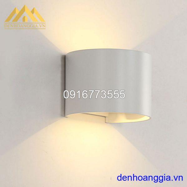 Đèn tường led 6w ngoài trời vỏ trắng Rolux-DTT27