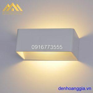 Đèn tường led 6w trong nhà vỏ trắng Rolux-DTT28