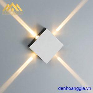 Đèn tường led 12w ngoài trời vỏ trắng Rolux-DTT31