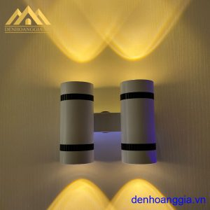 Đèn tường led 12w trong nhà vỏ trắng Rolux-DTT36