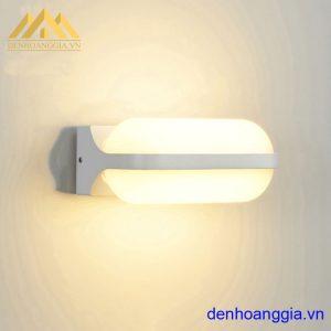 Đèn tường led 12w ngoài trời vỏ trắng Rolux-DTT37