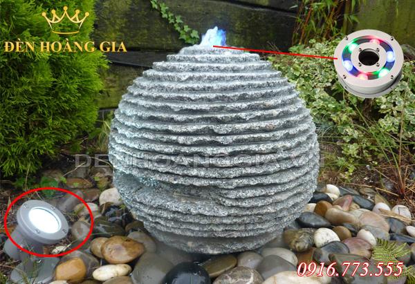 Đài phun nước hình cầu (Mẫu 2)