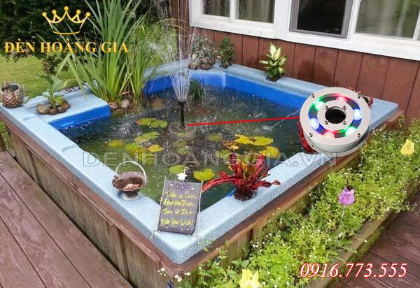 Đài phun nước kết hợp với bể cá cảnh mini (Mẫu 2)