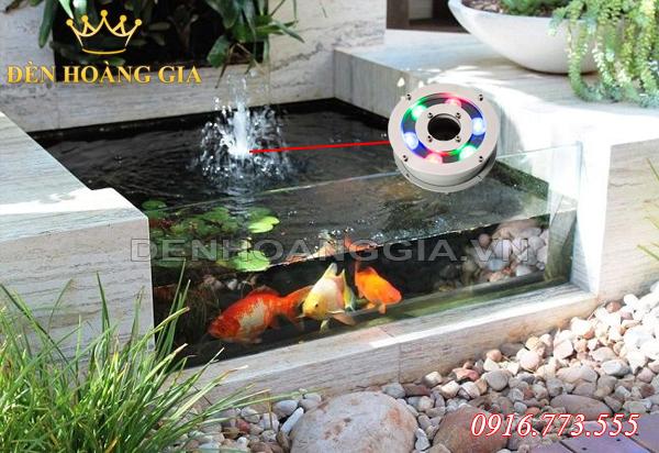 Đài phun nước kết hợp với bể cá cảnh mini (Mẫu 1)