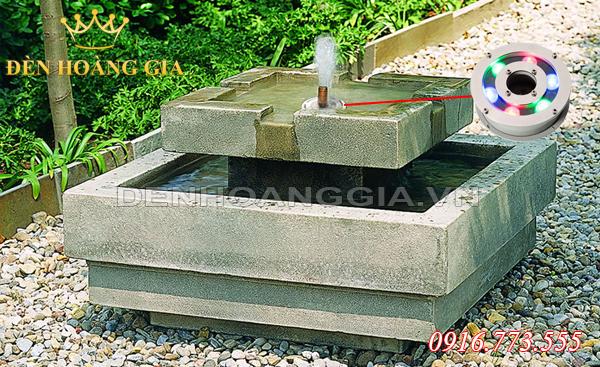 Đài phun nước mini từ bê tông (Mẫu 1)