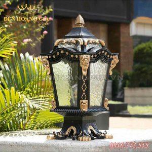 Đèn trụ cổng cổ điển HGA-TCCD20 (Nhôm)