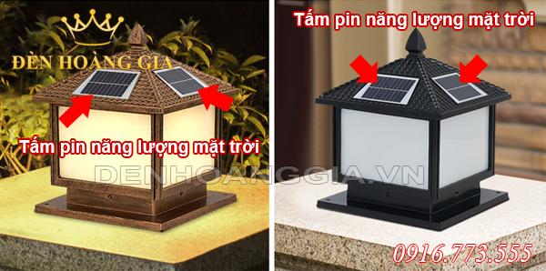 Đèn trụ cổng năng lượng mặt trời là gì?