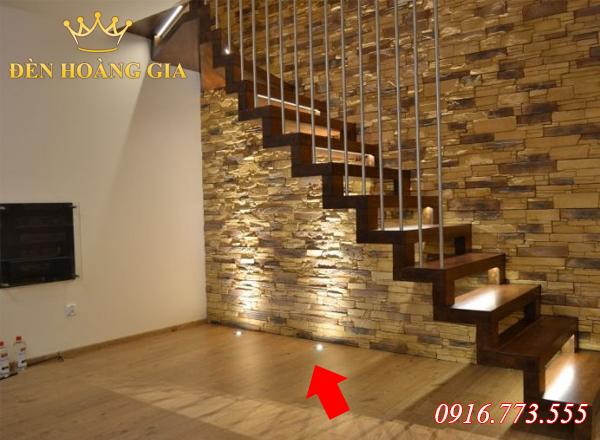 Ứng dụng lắp đèn âm sàn trong nhà