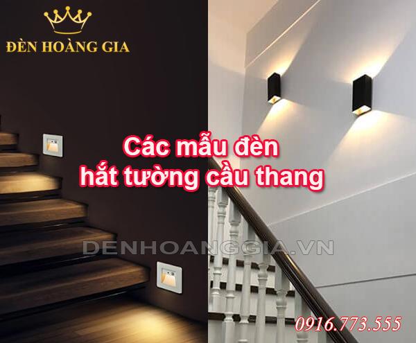 đèn hắt tường cầu thang