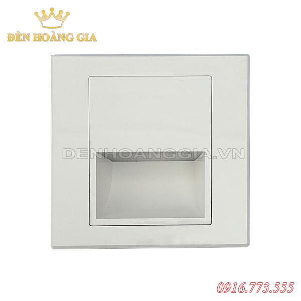 Đèn led chân cầu thang 1.5w HGA-ACT01 (Mặt trắng - Trong nhà)