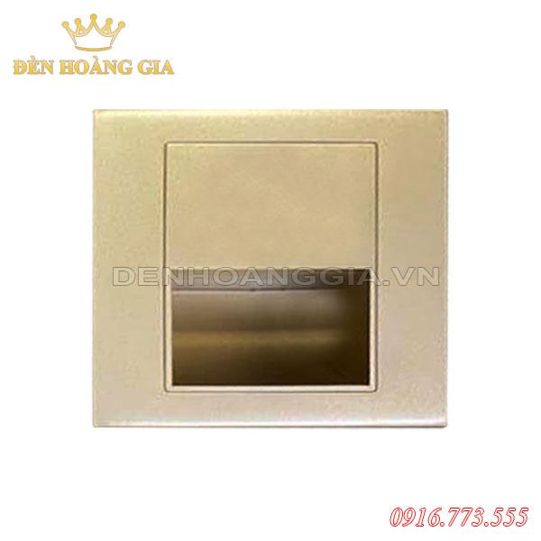Đèn led chân cầu thang 1.5w HGA-ACT03 (Mặt vàng - Trong nhà)