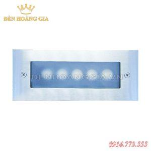 Đèn led chân cầu thang 5w HGA-ACT23 (Mặt Inox - Ngoài trời)